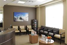 Orange County Eye Associates waiting room